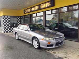 1998 R34 Nissan Skyline 25GT-X AT 107K