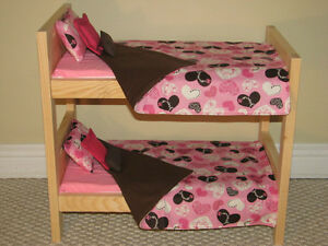 "Solid Wood Doll Beds for Our Generation Dolls & other 18"" dolls"