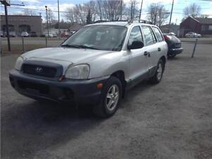 Hyundai santa fe 2001 awd
