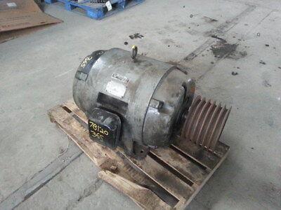 25 Hp Allis-chalmers Electric Motor 1130 Rpm 365u Frame Dp 440 V Design D