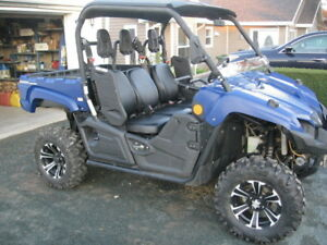 2014 YAMAHA VIKING WITH  EPS ONLY 1,400KMS