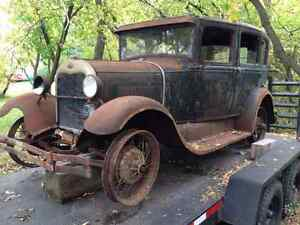 1929 Ford Model A Fordoor