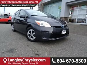 2014 Toyota Prius *ACCIDENT FREE*ONE OWNER*LOCAL BC CAR*