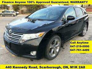 2011 Toyota Venza AWD FINANCE 100% APPROVED 3-YEARS WARRANTY