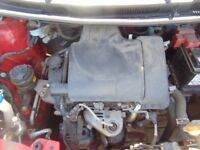 2006-2009 TOYOTA YARIS 1.0 PETROL 1KR-FE COMPLETE ENGINE 57,000 MILEAGE ONLY WITH WARRANTY