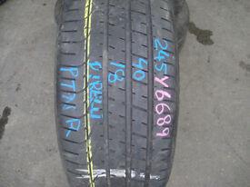 245 40 18,Pirelli,P Zero TM, Runflat,93Y,x1 Single Tyre,6.5mm (Part Worn Tyres Braintree)