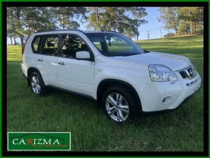 2012 Nissan X-Trail T31 Series 5 ST (FWD) White Continuous Variable Wagon Seven Hills Blacktown Area Preview