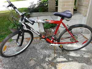 """18 Speed, 26"""" wheel Triump Laser Mountain Bike - $130"""