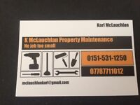Property maintenance/roofer/joiner/handyman
