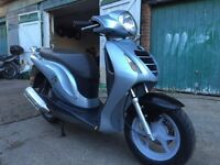 Honda PS 125 2008 plus hot grips and alarm for sale £999