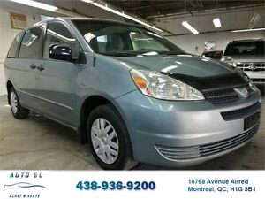***2005 TOYOTA SIENNA CE***7 PASSAGERS/IMPECCABLE