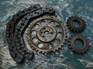 TIMING CHAINS & GEARS SMALL BLOCK CHEVROLET