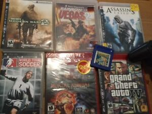 PLAYSTATION 3 GAMES AND CONTROL