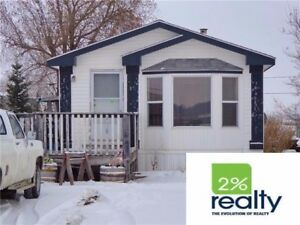 Newer Mobile Between Red Deer & Penhold - Listed By 2% Realty