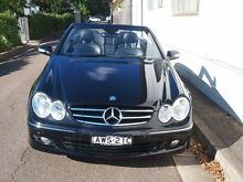 2006 Mercedes-Benz CLK350 C209 MY06 Avantgarde Obsidian Black 7 Speed Sports Automatic Cabriolet Petersham Marrickville Area Preview