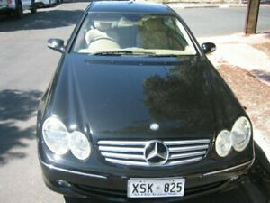 2003 Mercedes-Benz CLK240 C209 Elegance Midnight Black 5 Speed Auto Touchshift Coupe Prospect Prospect Area Preview