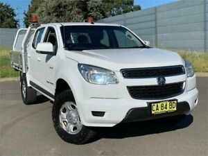 2014 Holden Colorado RG MY14 LX Crew Cab Summit White 6 Speed Sports Automatic Utility Blacktown Blacktown Area Preview