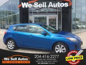 2013 Mazda Mazda3 GX *A/C *BLK HEATER *FOG LIGHTS *PWR LOCKS/MIR
