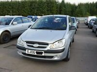 HYUNDAI GETZ 1,1 GSI 2004 ONWARDS BREAKING FOR SPARES TEL 07814971951 HAVE FEW IN STOCK
