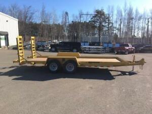 "NEW 2018 CAM 82.5"" X 18' WARRIOR EQUIPMENT TRAILER"