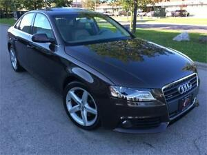 2011 AUDI A4 PREMIUM AWD BLUTOOTH SUNROOF B&O SOUND/MUST SEE
