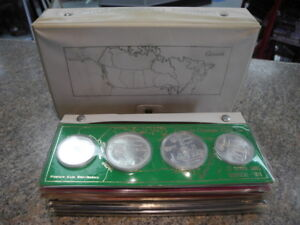 1976 Montreal Olympic Silver Complete Coin Set (28 Coins)