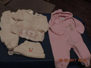 Girl's Size 0-3months Outerwear