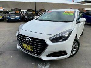 2017 Hyundai i40 VF4 Series II Active Tourer D-CT White 7 Speed Sports Automatic Dual Clutch Wagon Hamilton Newcastle Area Preview