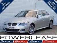 2007 57 BMW 5 SERIES 3.0 525I M SPORT 4D 215 BHP