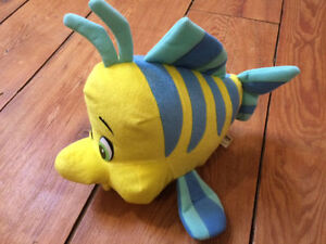 Large FLOUNDER TOY from the Little Mermaid - $10