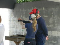 Model / Girls needed, be filmed target shooting a real gun