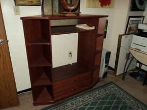 Cherry Wood TV Stand in excellent condition.