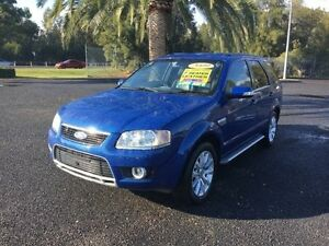 2009 Ford Territory SY Ghia Blue Sports Automatic Wagon Cabramatta Fairfield Area Preview