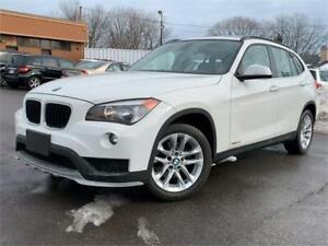 2015 BMW X1 XDRIVE-1 OWNER-PANO ROOF-LEATHER-HTD SEATS-BLUETOOTH