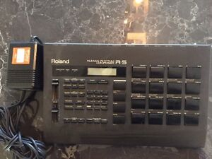 Roland Drum Machine R-5 Human Rhythm Composer in Perfect Working West Island Greater Montréal image 1