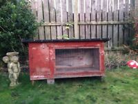 Guinea pig and rabbits outdoor cage/hutch