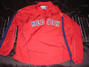 MLB - Boston Red Sox authentic cool base wind breaker.
