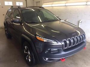 2015 Jeep Cherokee Trailhawk CUIR TOIT PANO. SEULEMENT 20,000KM