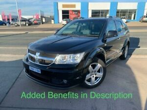 2010 Dodge Journey JC MY10 R/T Black 6 Speed Automatic Wagon Fyshwick South Canberra Preview