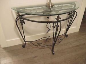 Decorative iron table