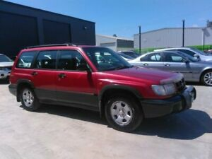 1999 Subaru Forester Limited Red 5 Speed Manual Wagon Mowbray Launceston Area Preview