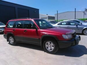 1999 Subaru Forester Limited Red 5 Speed Manual Wagon