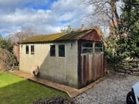 Concrete paneled garage 16.4 Ft - 8.6 Ft Buyer to dismantle, Open to offers