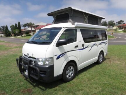 2010 Toyota Hiace Camper – TURBO DIESEL - AUTO Glendenning Blacktown Area Preview