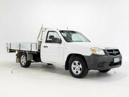 2009 Mazda BT-50 08 Upgrade B2500 DX White 5 Speed Manual Cab Chassis Devonport Devonport Area Preview