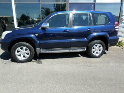 2005 Toyota Landcruiser Prado 2005 GXL Blue 5 Speed Manual Wagon