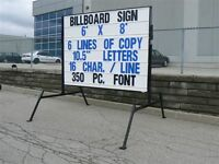 Mobile signs....