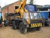 Iron Fairy Sapphire 6 Ton Crane £5500 + VAT Unless Export