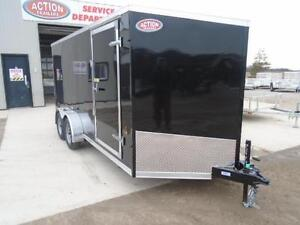 IN STOCK SPECIAL 2016 HAULIN 7X16' ENCLOSED CARGO - LOWEST PRICE London Ontario image 5