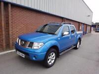 2006 NISSAN NAVARA Double Cab Pick Up Outlaw 2.5dCi 4WD Auto